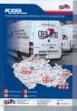 Mapa sítě v ČR